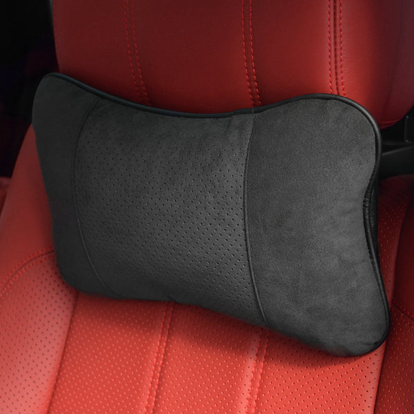 Premium Genuine Alcantara Headrest Pillow