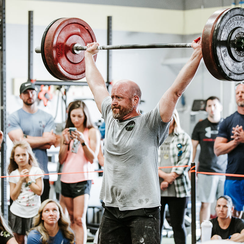 CrossFit Competition Overhead Press and Snatch