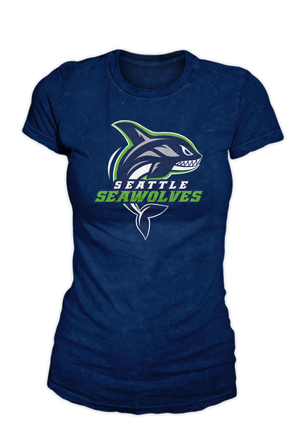 Women's Seattle Seawolves Logo T-shirt