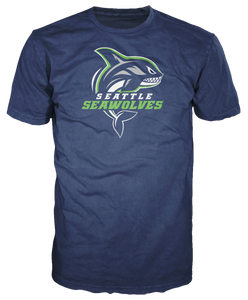 Seattle Seawolves Logo T-shirt