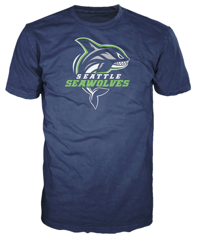 Men's Seattle Seawolves Logo T-shirt