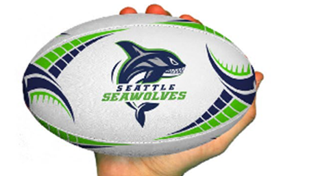 Seawolves Mini Rugby Ball