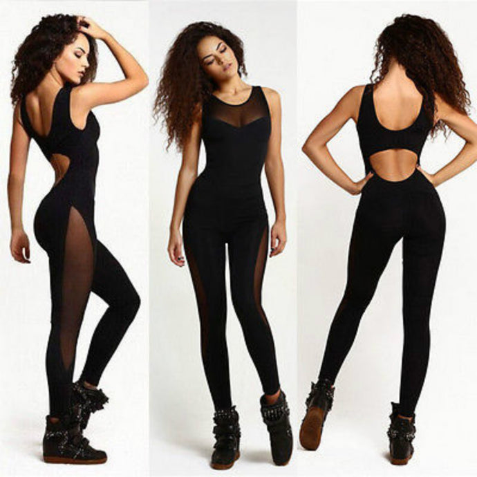 ALL BLACK FITNESS JUMPSUIT - Fit Moco