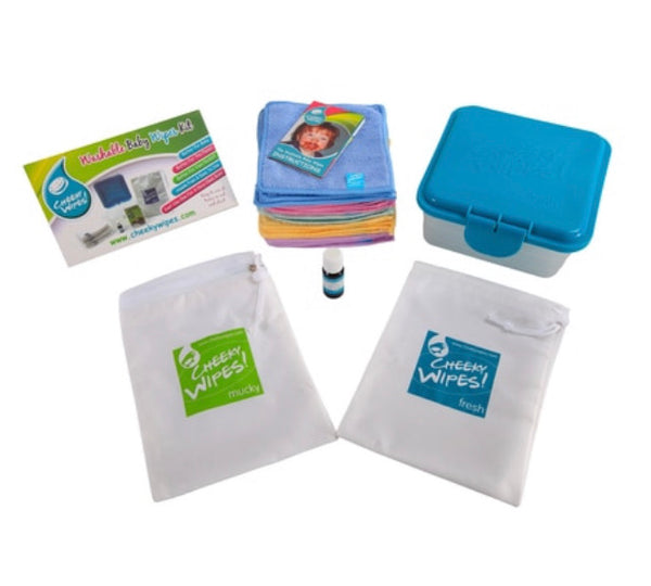 Cheeky Wipes Hands and Faces Kit