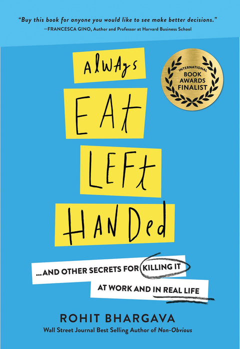 Always Eat Left-Handed