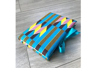 Blue Kente Notebook