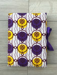 Purple & Yellow Gems Notebook