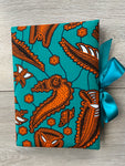 Orange Shell Notebook