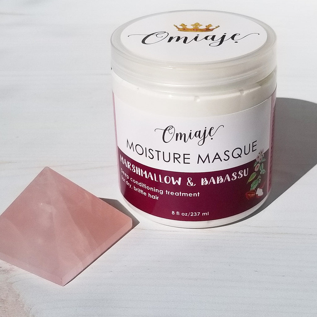 Hair Moisture Masque | Marshmallow & Babassu Deep Conditioner