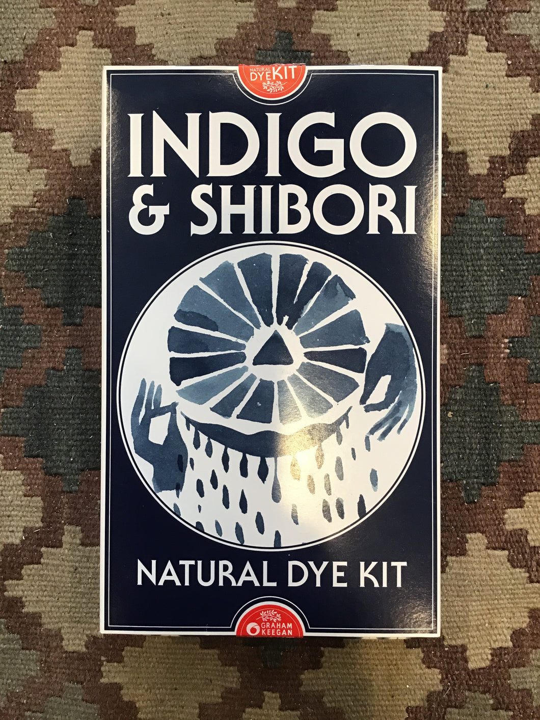Indigo & Shibori Natural Dye Kit