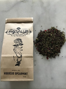 Hibiscus Spearmint Tea