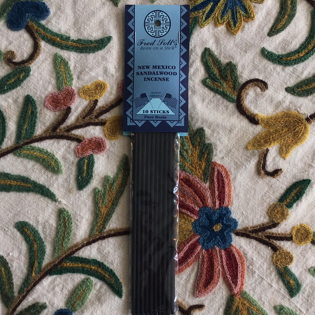 Fred Soll's New Mexico Sandalwood Incense