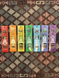 Chakra Incense Collecton