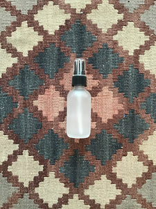 2 oz Frosted Spray Bottle