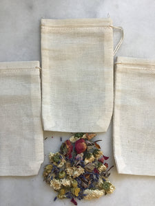 Drawstring Muslin Tea Bag