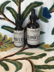 Organic Solomon's Seal Infused Olive Oil