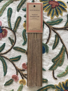 Auroshika Natural Sandalwood Sticks