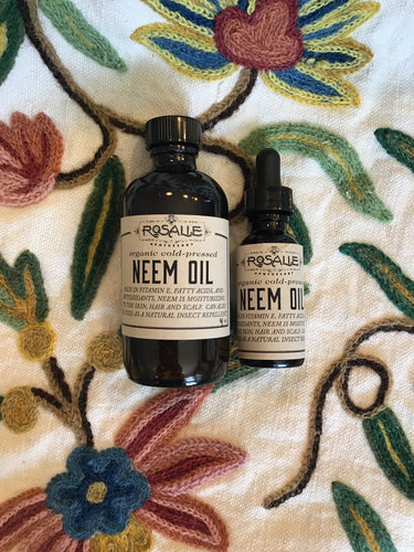 Organic Cold pressed Neem Oil