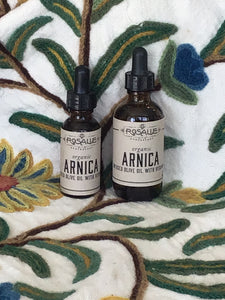 Organic Arnica Infused Olive Oil