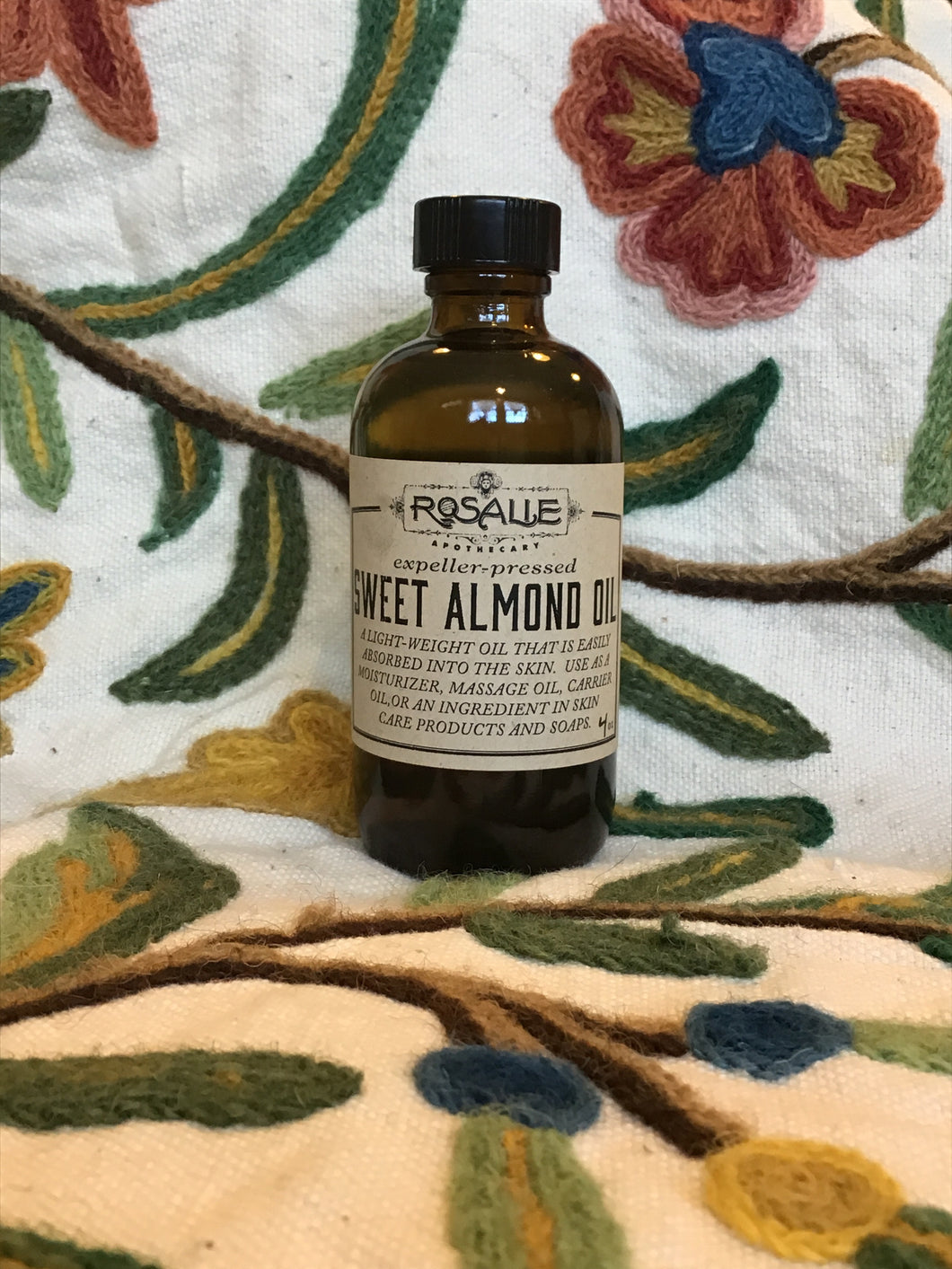 Sweet Almond Oil 4 fluid ounces