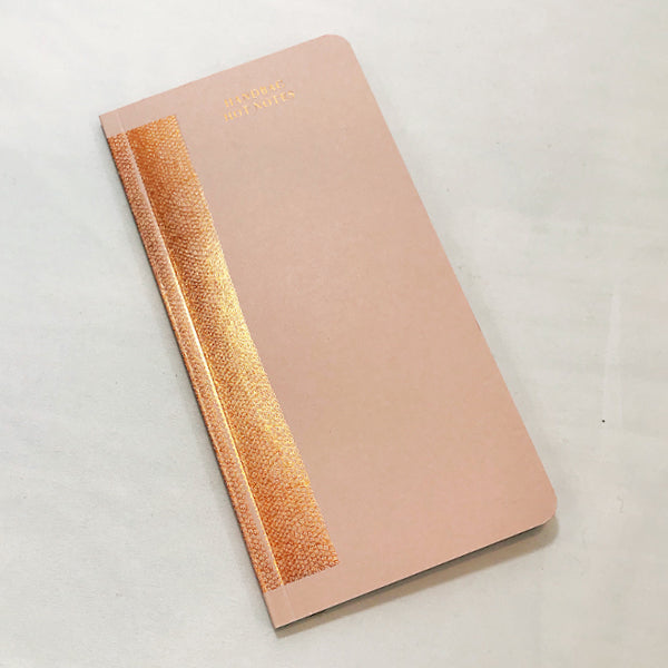 Copper Handbag Notebook