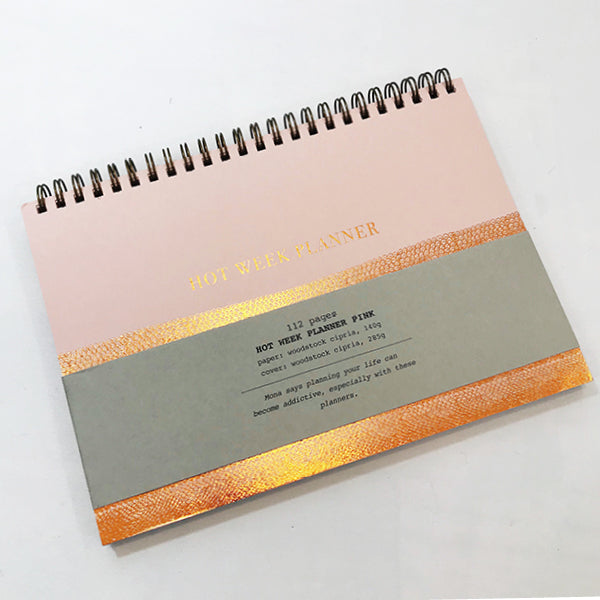 Copper Weekly Planner