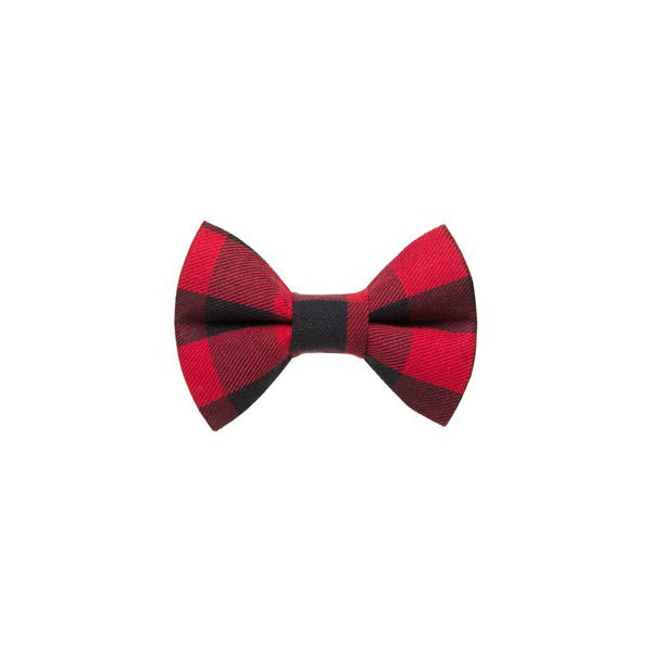 Kitty Bow Buffalo Check
