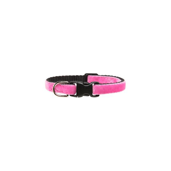Kitty Collar Pink Plush