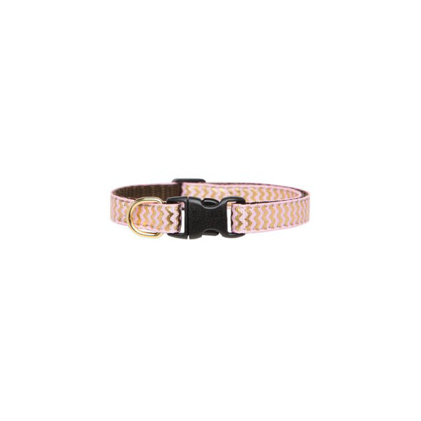 Kitty Collar Zig Zag Pink