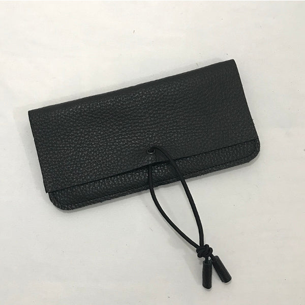 Leather Wallet Noir