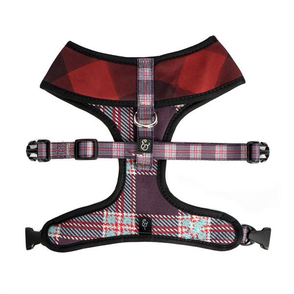 Pet Harness Buffalo Plaid