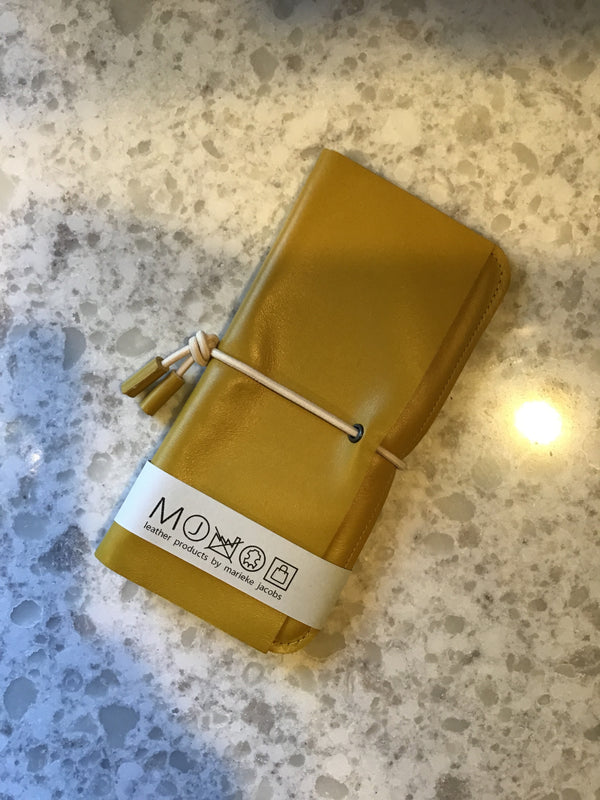 Leather Wallet Mustard
