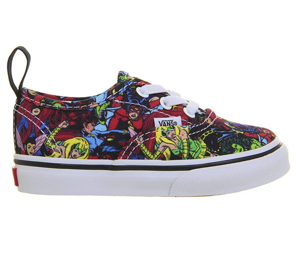 Vans Infant/Toddler Sneakers with Authentic Marvel Design