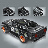 Four-channel Remote Control Car Building Kit 3168-Pieces