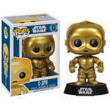 Funko Star Wars POP! Vinyl Collectors Set: Darth Vader, Boba Fett, R2-D2, C-3PO