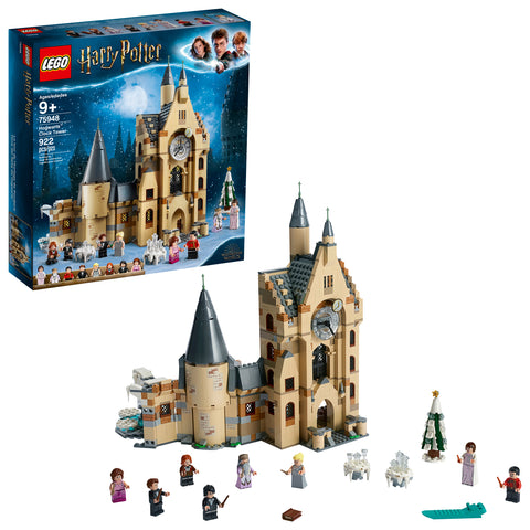 LEGO Harry Potter Hogwarts Clock Tower 75948 Toy Build and Tower Set