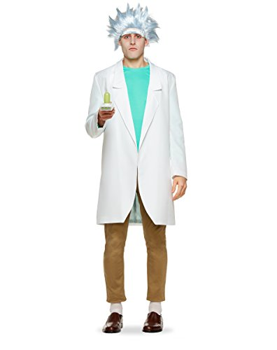 Spirit Halloween Adult Rick Costume - Rick and Morty