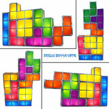 Tetris Puzzle Desk Lamp LED Block Table Light