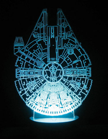 Millennium Falcon LED Table Lamp