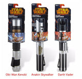 Telescopic Star Wars Lightsaber Darth Vader Anakin Obi-Wan Sword Light saber Action Figure Toys No Light Children's Day Gift
