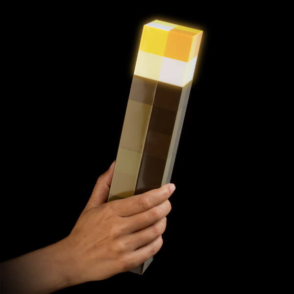 Light Up Minecraft LED Torch