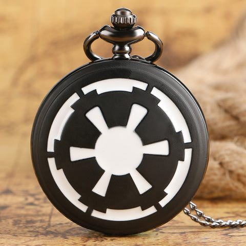 Star Wars Galactic Empire Badge Pocket Watch