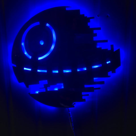 Star Wars Death Star LED Wall Lamp