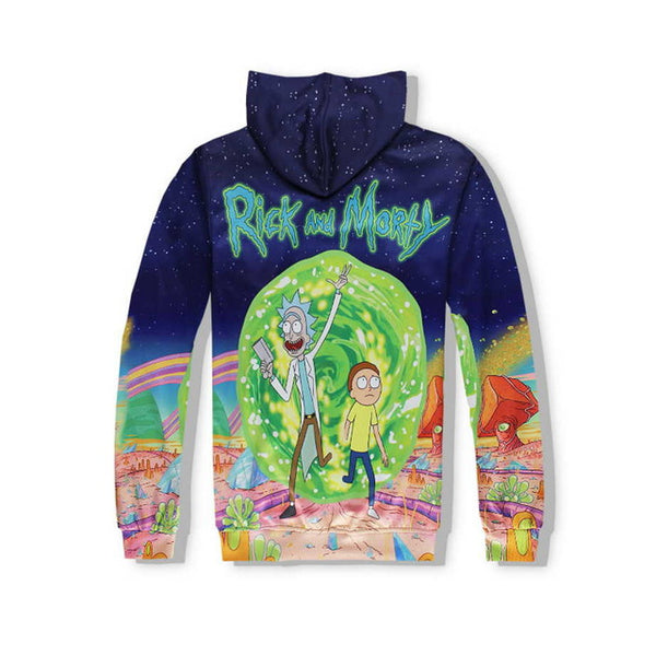 Rick and Morty Hoodie and Pants