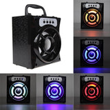 Epic Portable Bluetooth Wireless Speaker With LED Lights