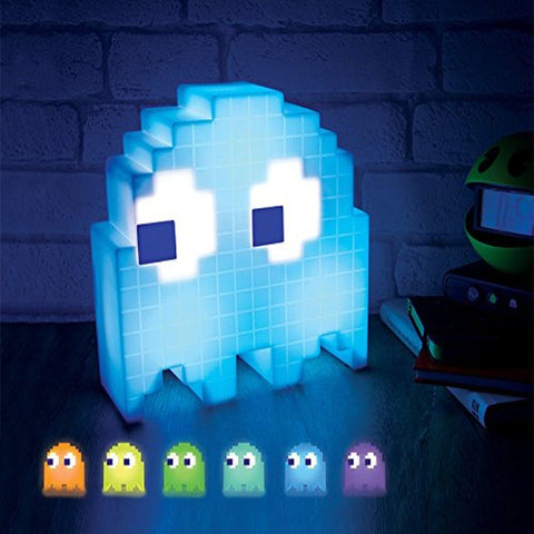 PacMan Ghost Light USB Powered Multi-colored Lamp