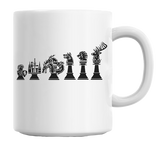Game of Thrones Chess Coffee Mug