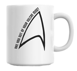 Star Trek: Out Of Your Vulcan Mind Coffee Mug