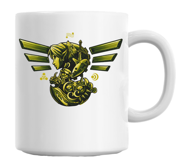 Legend of Zelda: The Journey of Courage Mug