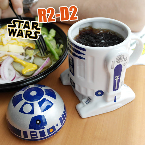 Star Wars Classic R2D2 Ceramic Sculpted Coffee Mug